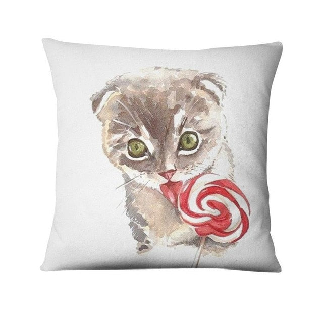Cat Designer Cushions Covers