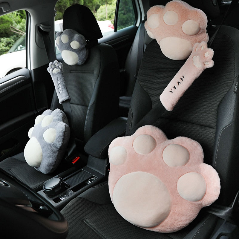 Cat Car Plush Pillows