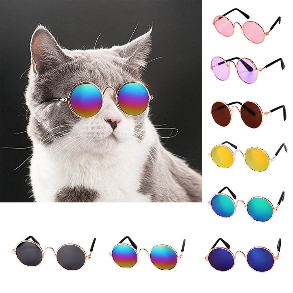 Lovely Pet Cat Glasses Dog Glasses