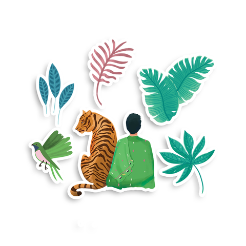 Wild Jungle Sticker Pack