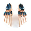 Cabinet Studios Swarovski Crystal Rose Gold Earrings