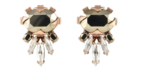 Cabinet Studios // Cirripedia Metallic Statement Stud Earrings