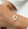 Wanderlust + Co // Sunseeker Gold Bracelet