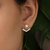 Anchor Pearl Ear Jackets