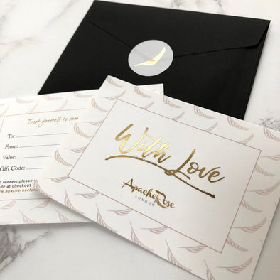 Apache Rose London Jewellery Gift Voucher