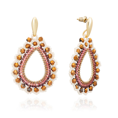 Azuni Siona Beaded Earrings Acapulco