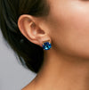 Cabinet Studios Montana Blue Swarovski Crystal Earrings