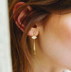 Elysia Gold Mismatched Earrings