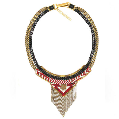 Fiona Paxton // Stina Red Statement Necklace