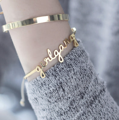 Wanderlust + Co Girl Gang Hinged Bangle