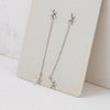 Lover's Tempo Glimmer Drop Star Earrings