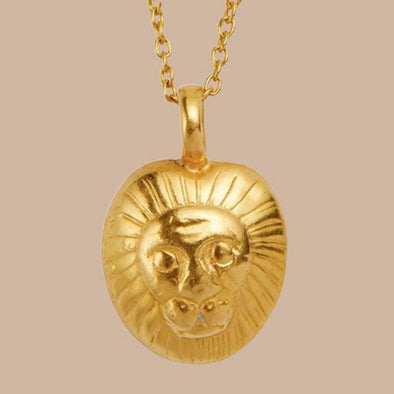 Goddess Charms God of Courage & Inner Strength Necklace