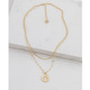 Lovers Tempo Sunburst Layered Necklace