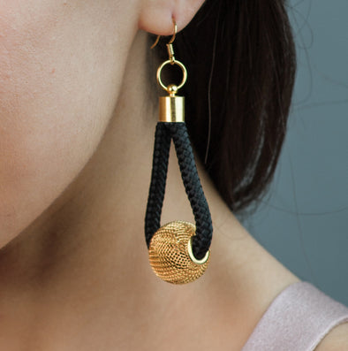 Pichulik Curve Ball Earring
