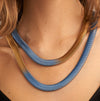 Sarah Cavender Fern Snake Necklace