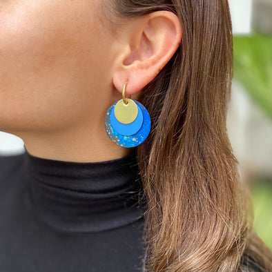Sibilia Patmos 3 PLanets Earrings