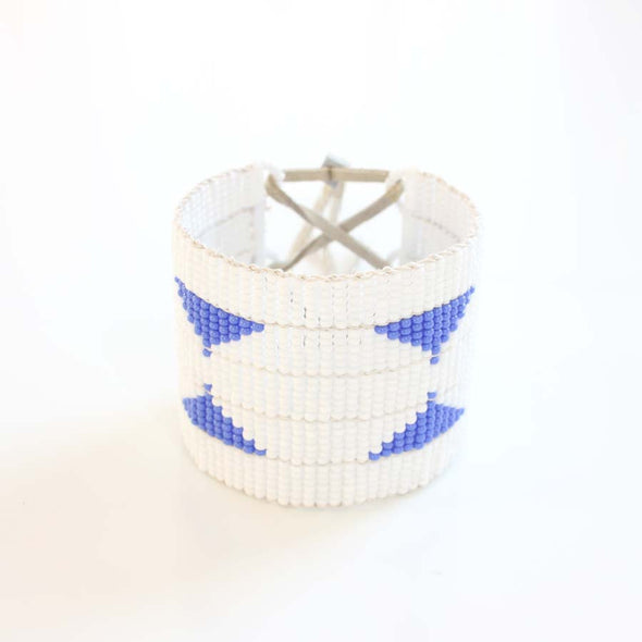 Sidai Designs Warrior Cuff Cornflower Blue