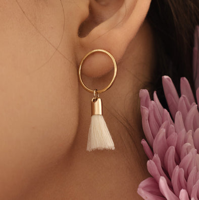 Lovers Tempo Solar Tassel Earrings