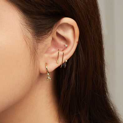 Wanderlust & Co In The Stars Gold Ear Cuffs