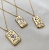 Wanderlust + Co Gold Tarot Necklace Series