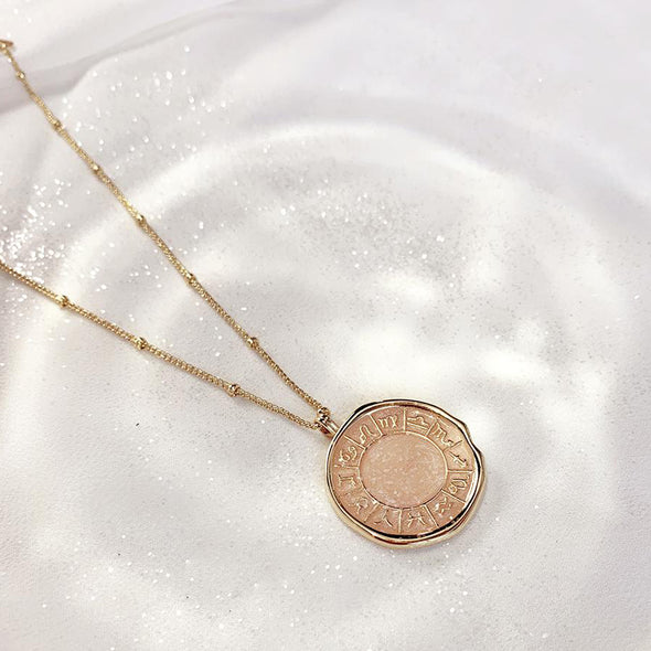 Wanderlust + Co Zodiac Necklace