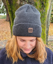 Load image into Gallery viewer, Gank outdoors fireside beanie grey