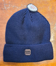 Load image into Gallery viewer, Gank outdoors fireside beanie dark blue