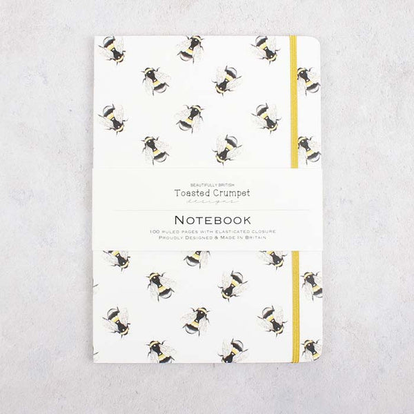 A5 Lined Notebook - Bumblebee Pure