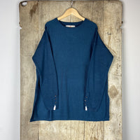 Basic Ginger Jumper - Slate Green (Teal)