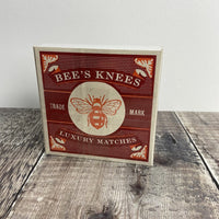 Box Matches - Bees Knees