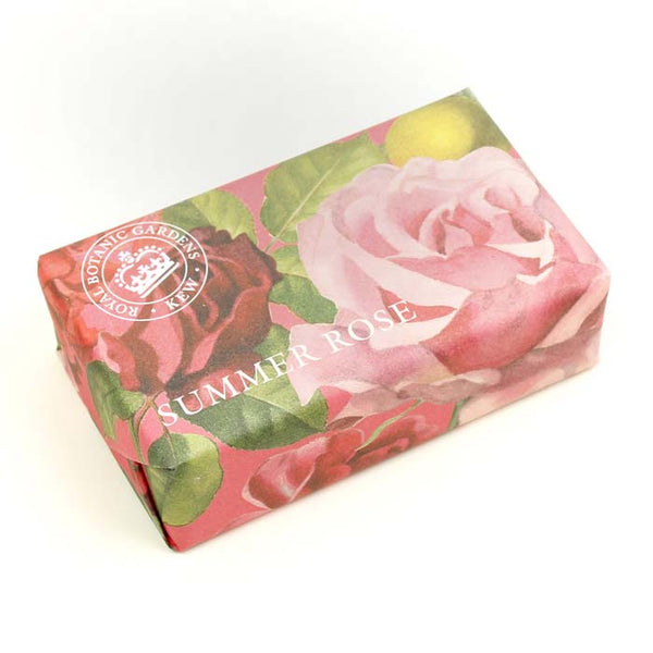 Kew Garden Soap 240g - Summer Rose