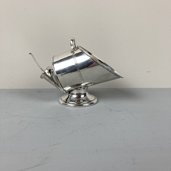 Silver Plated Sugar Scuttle and Shovel