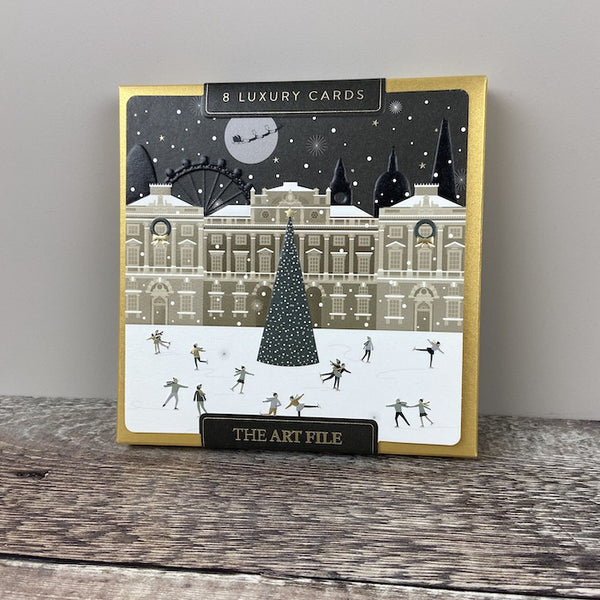 Luxury Card Box Pk 8 - London Skaters