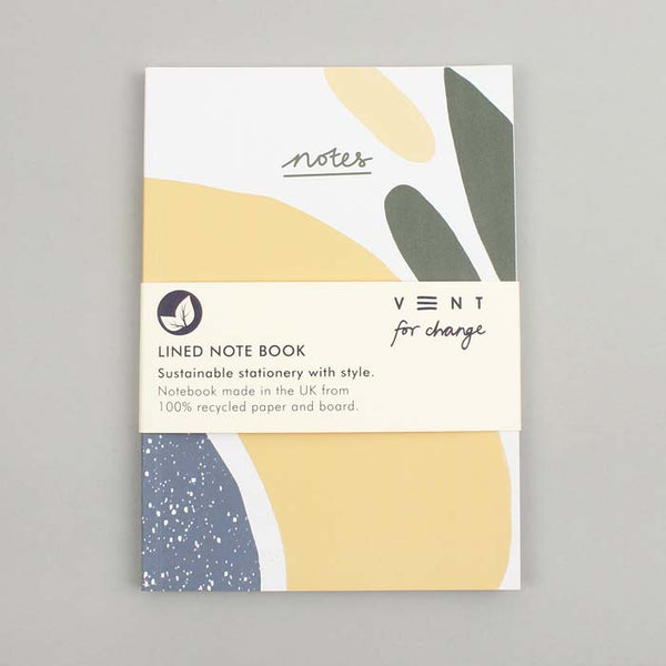 A5 Notes Olive Soft Cover Notebook (Lined)
