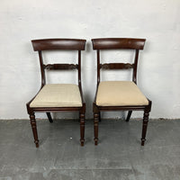 C19th Pair of William IVth Chairs
