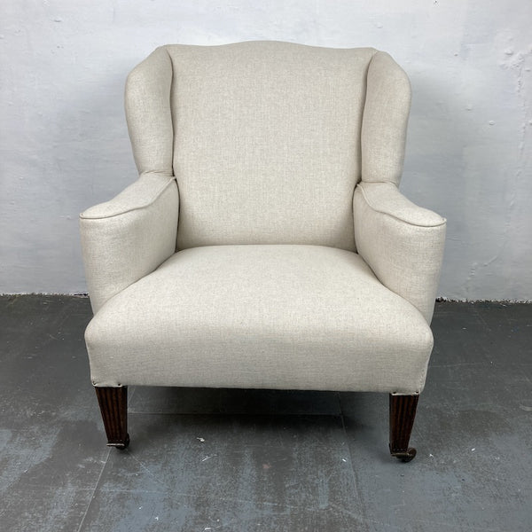 C19th Wing Chair