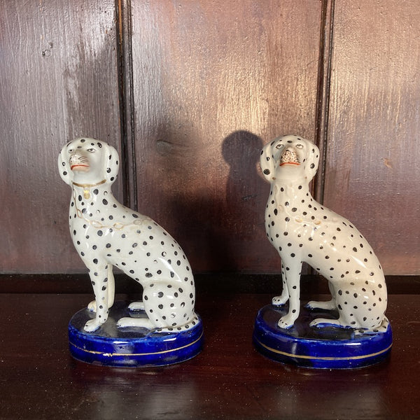 Non Handed Pair of Dalmations