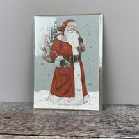 Advent Calendar Card - Father Christmas