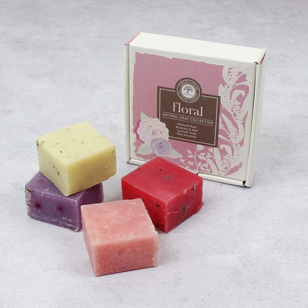 Soap Box - Floral Collection - 4 x 25g Soaps