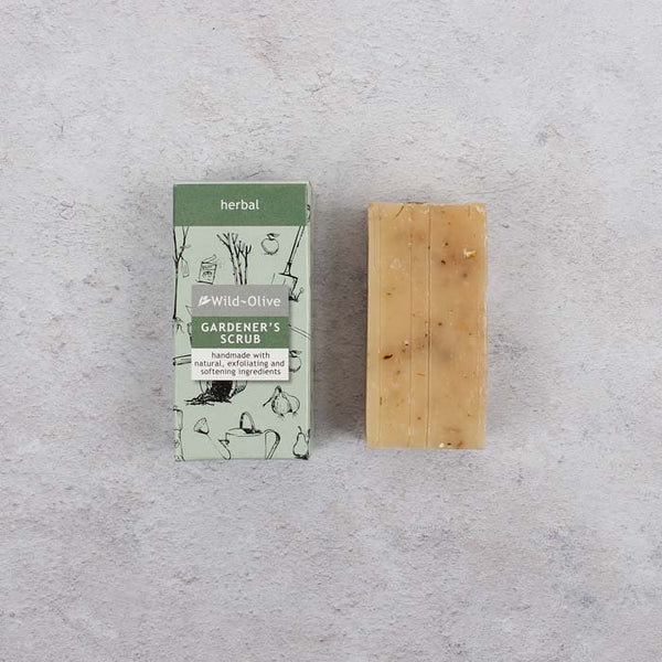 50g Soap Bar - Gardener's Scrub