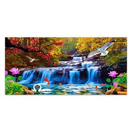 FULLY BEADED! WATERFALL UNITY 40*85cm