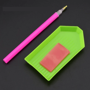 EXTRA PEN, PEN GLUE, TRAY SET