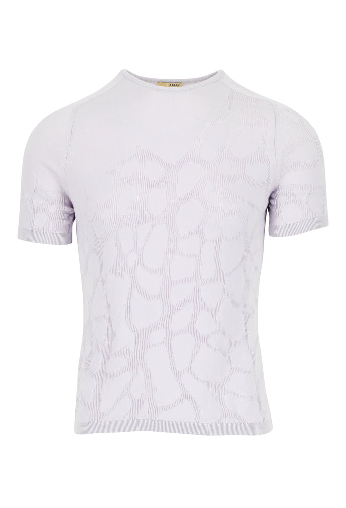 Organic Cotton Top Cyrus Cellula Lilac