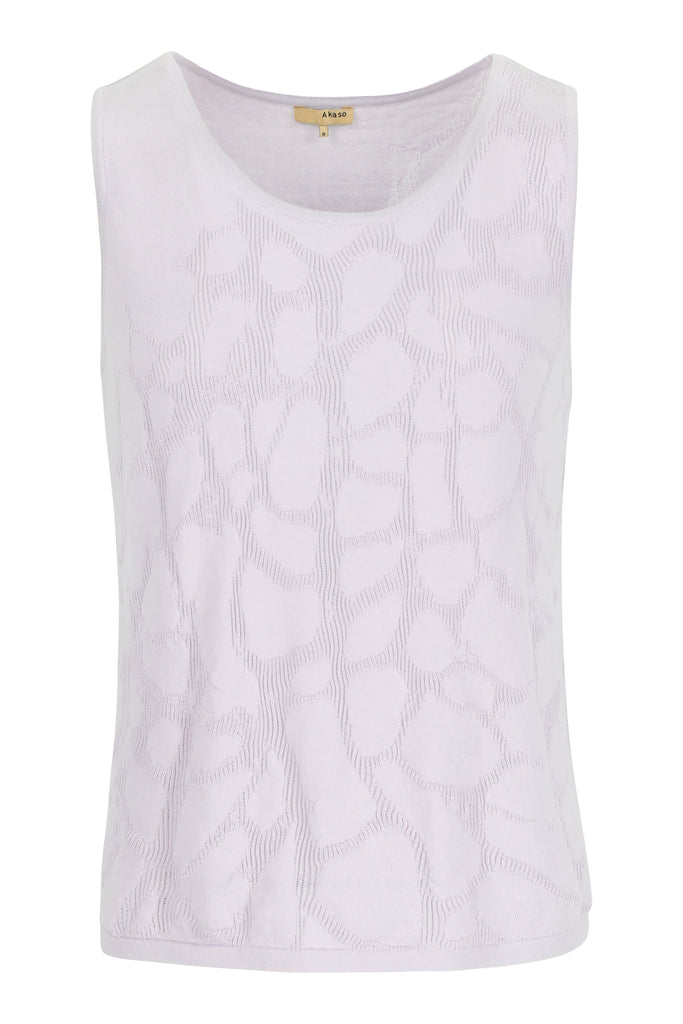 Organic cotton Tank Top Jinka Cellula Lilac