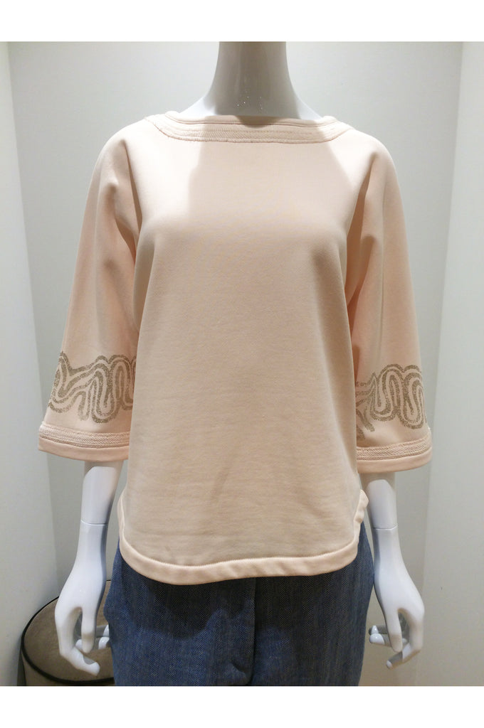 Pure Cotton Sweatshirt Gigi Ayo Ivory