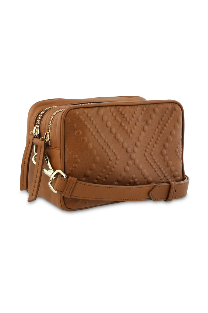 Cross Body Bag Nakua Medium Brandy
