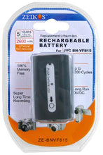 Load image into Gallery viewer, Zeikos ZE-BNVF815 Rechargeable Lithium Replacement Battery (Black ) - iHip