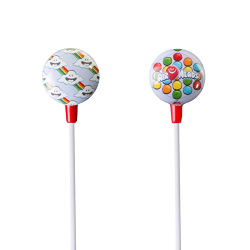 iHip AIRHEADS Candy Stereo Earbud with Built-in Mic for Apple Android Compatible Gifts for Kids Teens Earbuds for Boys and Girls Fun and Collectible