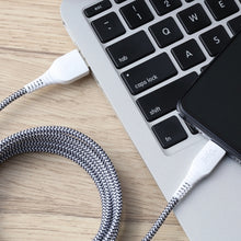 Load image into Gallery viewer, iHip 10ft  2-in-1 Lightning/ Micro USB Charging Cable