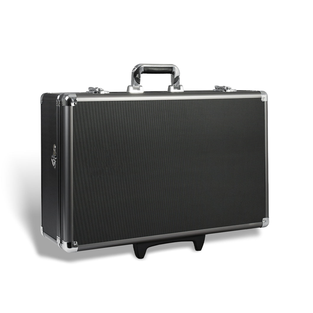 Zeikos | ZE-HC52 Deluxe Large Hard Rolling Protective Storage Case
